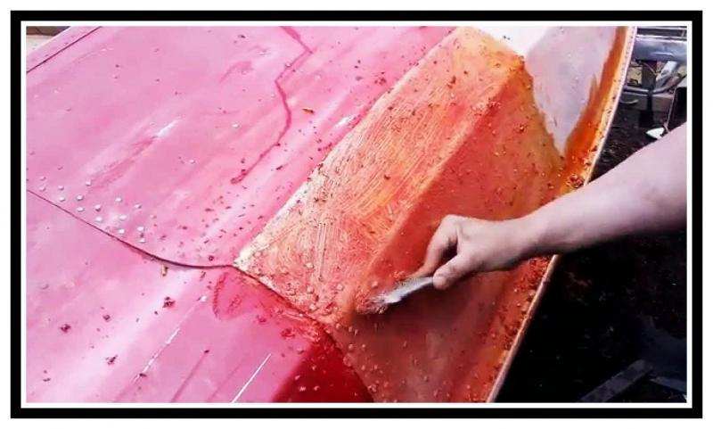 Долой краску с металла: действенные методы