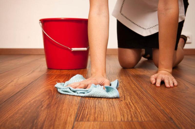 Мытьё ламината в домашних условиях