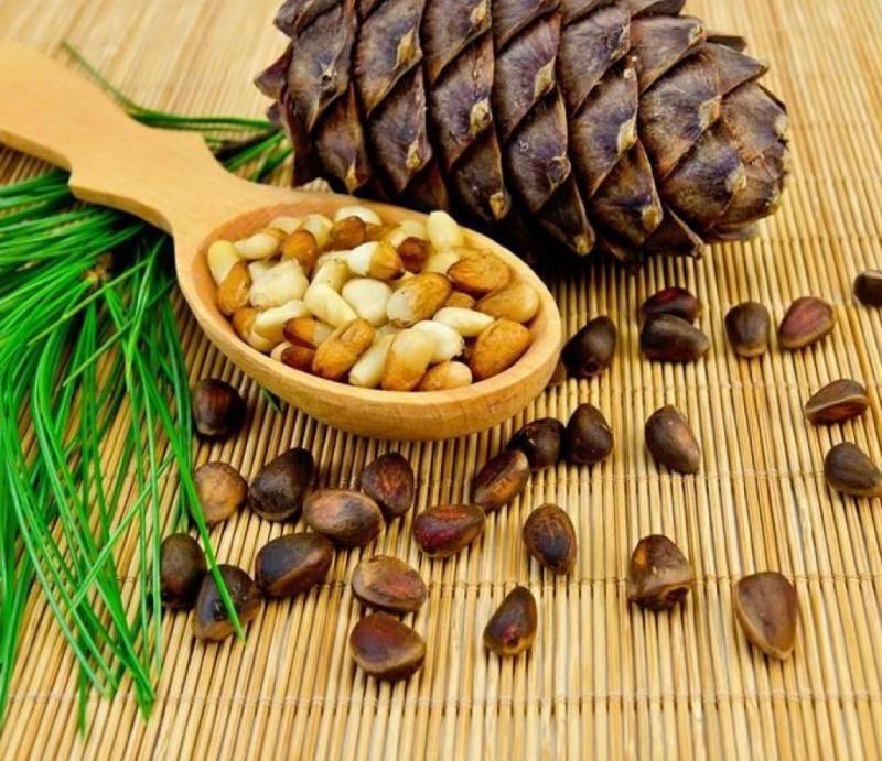 Очистка и хранение кедровых орешков
