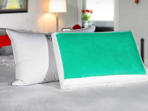 Ортопедическая подушка с гелем