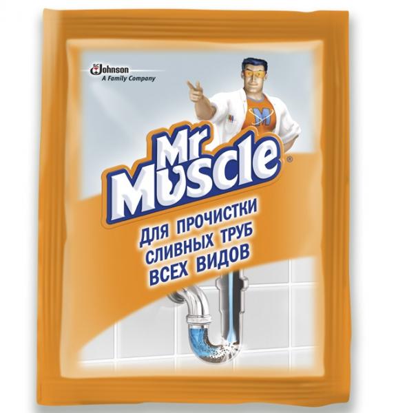 Mr Muscle для труб