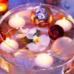 новогодние плавающие свечи 2