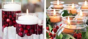 новогодние плавающие свечи 3