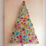 новогодние украшения стен на новый год