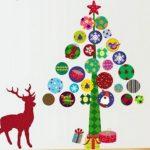 новогодние украшения стен на новый год 2